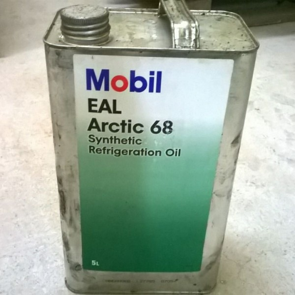 Масло Mobil EAL Arctic 68